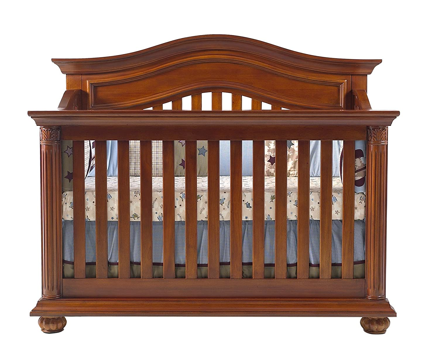 Amazon Com Baby Cache Heritage Crib Classic Chestnut Discontinued