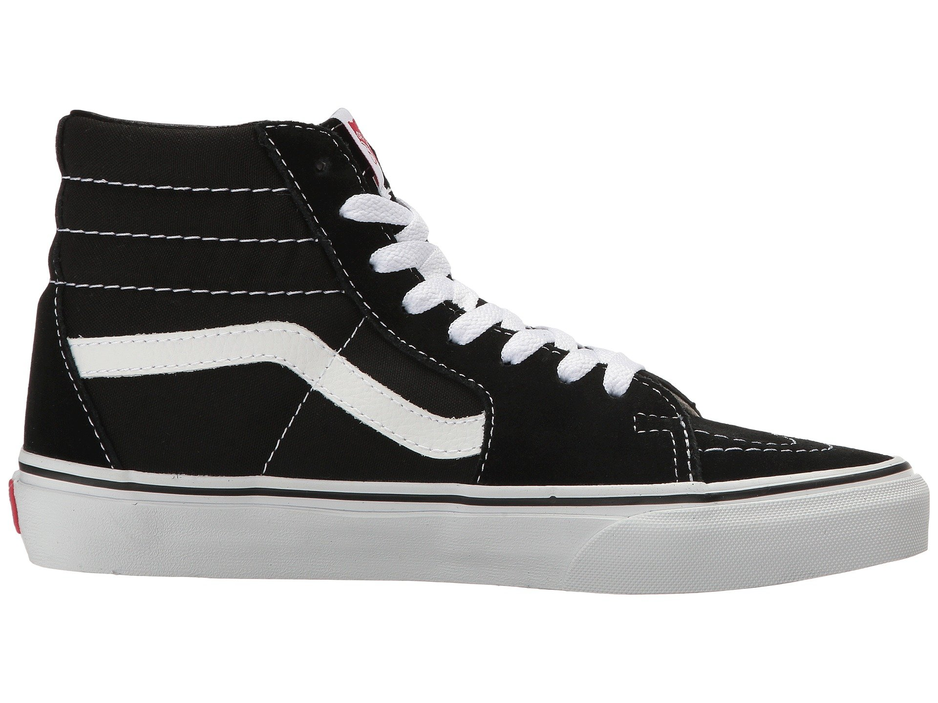 Vans Sk8-Hi Black White Skate VN-0D5IB8C Mens US 5 by Vans