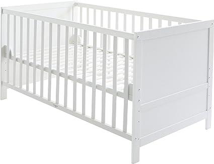 roba-kids 0191W - Cuna de 140 x 70 cm transformable en cama ...