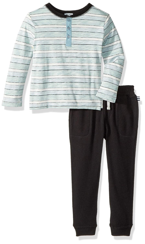Splendid Boys Reverse Stripe Long Sleeve Set