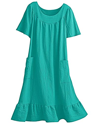 National Crinkle Cotton Dress