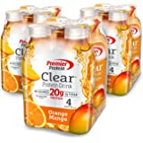 Premier Protein Clear  Drink, Orange Mango, 16.9 fl oz Bottle, (12 Count)