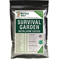 15,000+ Non-gmo Heirloom Vegetable Seeds 32 Variety Pack by Open Seed Vault