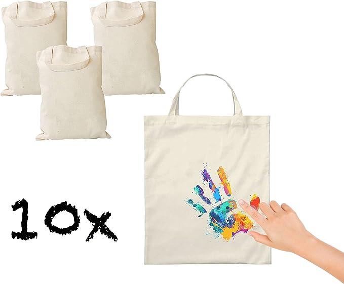 10 x Bolsa de tela bolsa de algodón stoft cenizas Bolsa Algodón ...