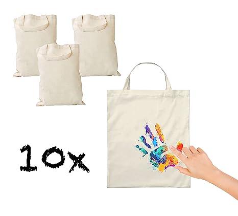 10 x Bolsa de tela bolsa de algodón stoft cenizas Bolsa ...