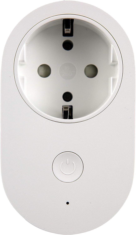 Mi Smart Plug (WiFi) enchufe inteligente conmutable versión de la UE, compatible con Alexa, Google Voice, App controlable, ZINNZ SELECTED