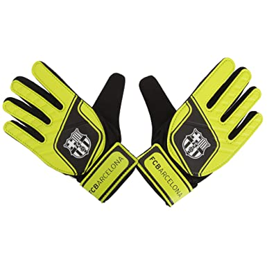 YOUTHS 10-12 Years - GIFT F.C Barcelona Goalkeeper Gloves