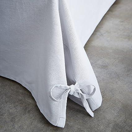 TODAY 576334 Cache - Funda de somier, algodón/Tela Tejida/Polipropileno, algodón, Gris Zinc, 160 x 200 cm