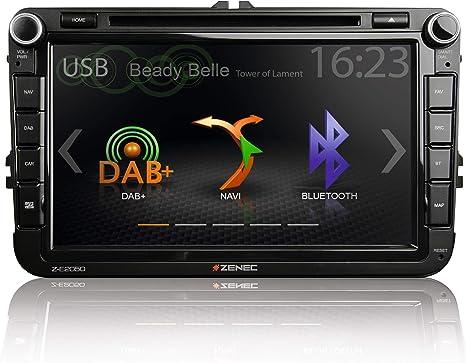 Zenec Z E2050 Infotainer 2 Din Mediencenter Für Vw Elektronik