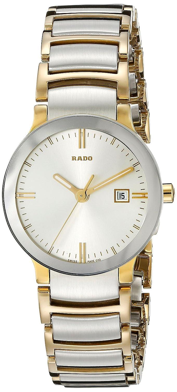 Rado Women s R30932103 Cerix Two Tone Stainless Steel Watch