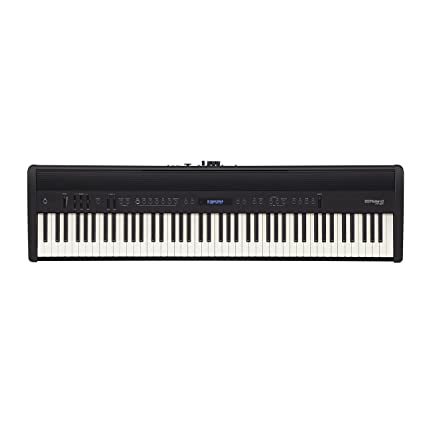 Roland FP-60 88llaves Negro piano digital - Teclado electrónico (4 W, 22