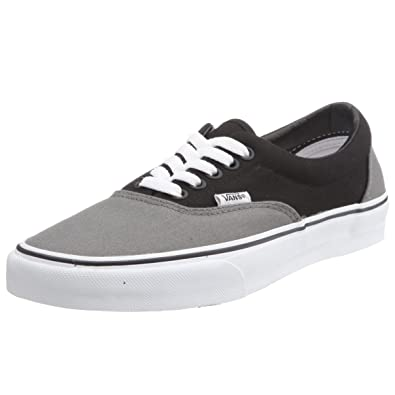 80c07cc336 Vans Unisexs VANS ERA SKATE SHOES 3.5 (PEWTER BLACK)