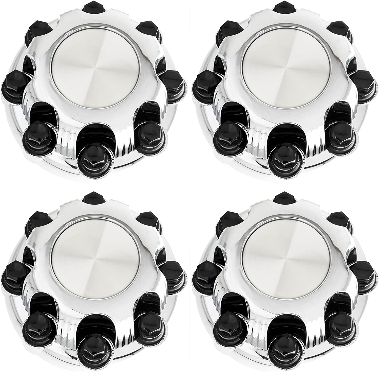 "4 GMC Sierra 1500 Yukon 16/"" Wheel Center Hub Caps 6 Lug Hubs Nut Rim Bolt Covers"