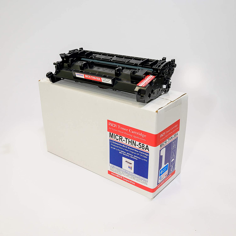 MicroMICR MICR Toner Cartridge - Alternative for HP 58A - Black