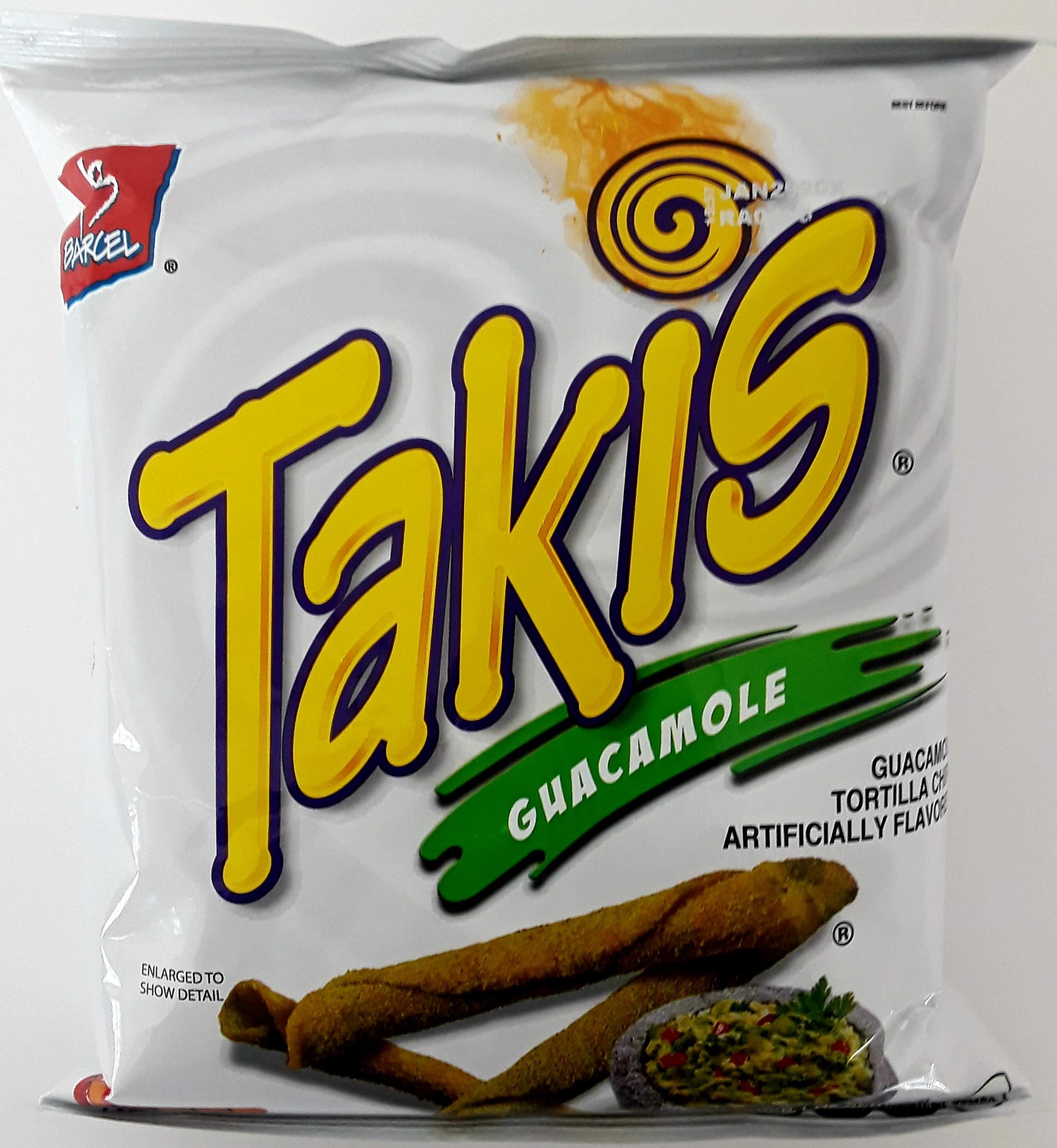 Takis Guacamole 4 Oz Pack of 2