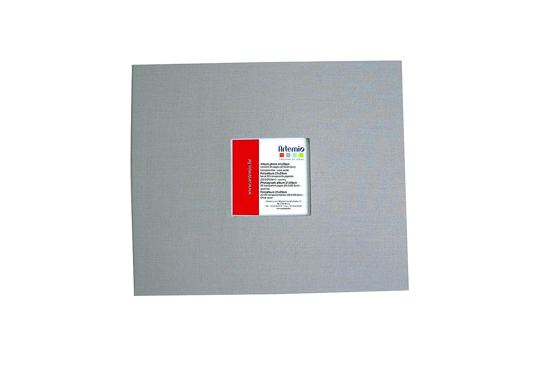 Artemio 20.5 x 20.5 cm ScrapBooking Album, Light Grey 11009009