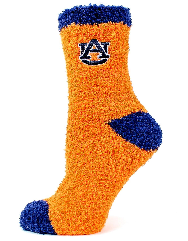 Blue Donegal Bay NCAA Auburn Tigers Solid Fuzzy Socks One Size