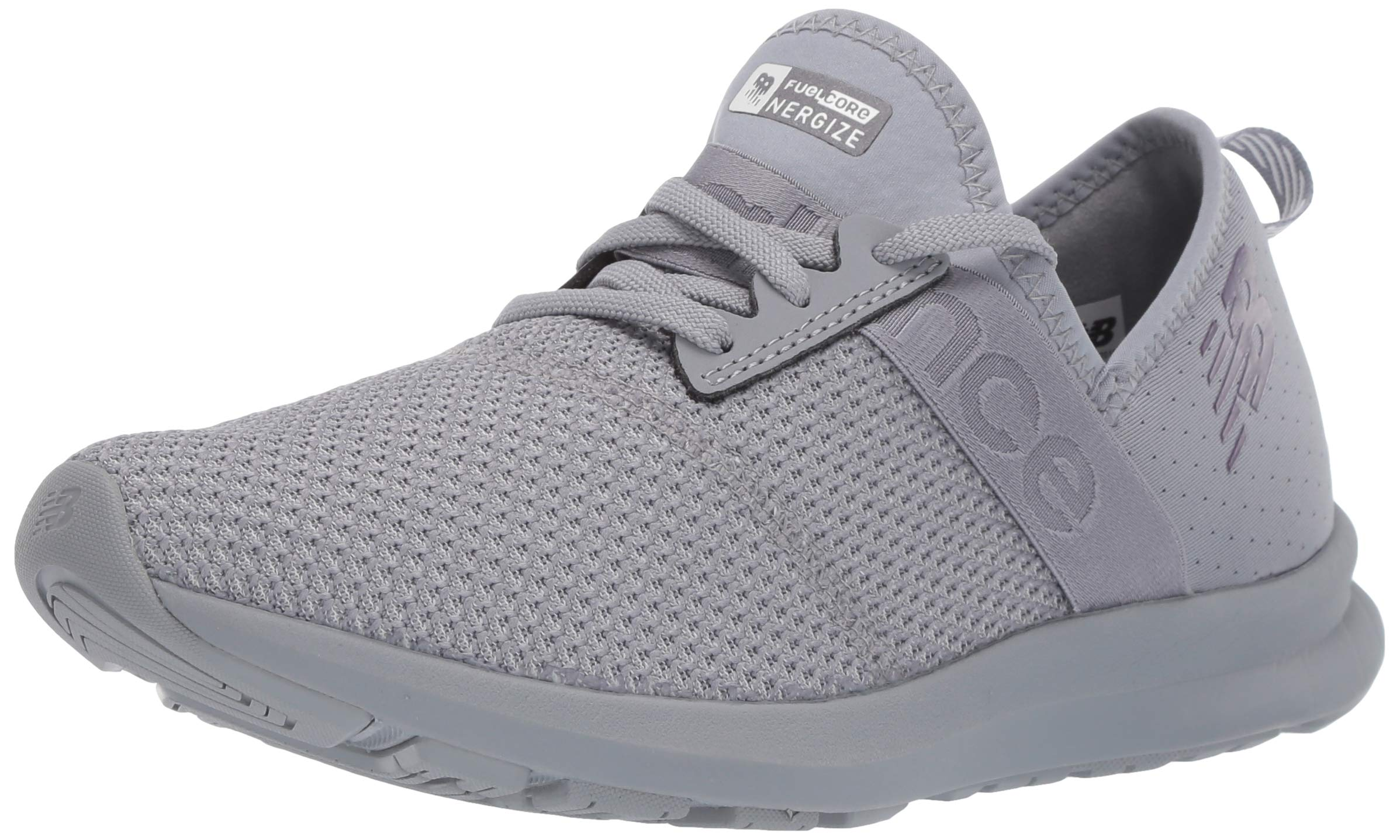 New Balance Women's Nergize V1 FuelCore Sneaker,STEEL,5 D US by New Balance