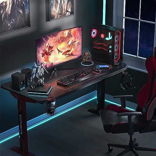 Foxemart Gaming Desk 47 inch PC Gaming Desk
