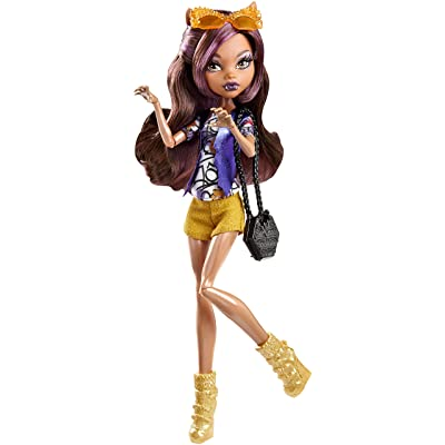 Monster High Boo York Boo York Frightseers Clawdeen Wolf Doll: Toys & Games