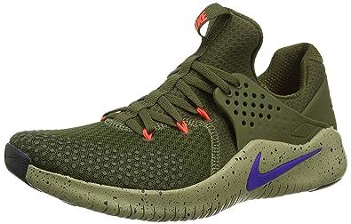 quality design 95e1e 096d7 Nike Free Trainer V8, Chaussures de Trail Homme, Multicolore Canvas Indigo  Burst