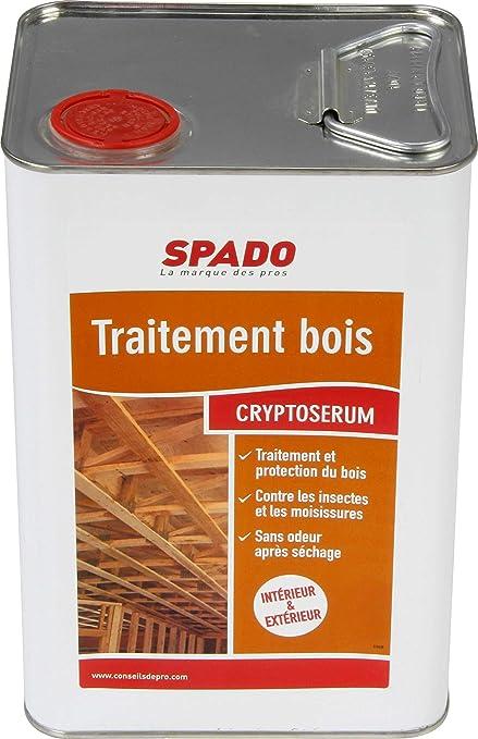 Spado Traitement Bois Crypto Srum  L AmazonFr Hygine Et Soins
