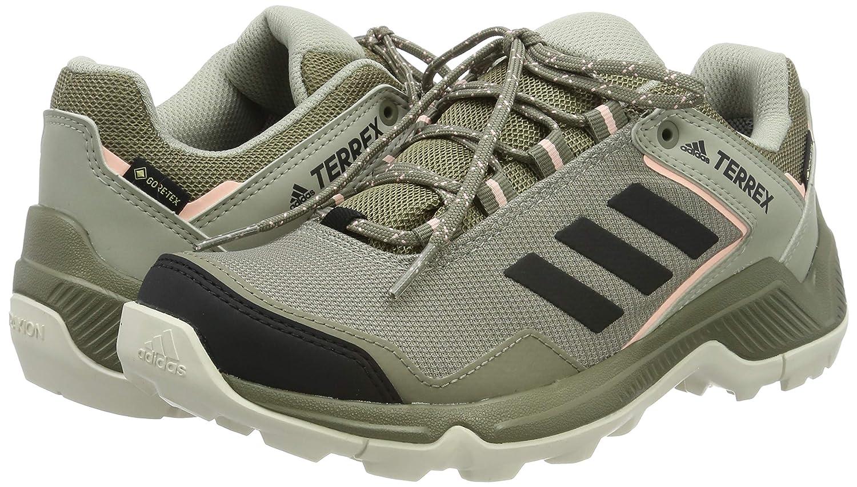 adidas Terrex EASTRAIL GTX W, Zapatillas de Trail Running para Mujer, Bc0979 Trace Cargo Core Black Clear Orange, 37 1/3 EU: Amazon.es: Zapatos y complementos