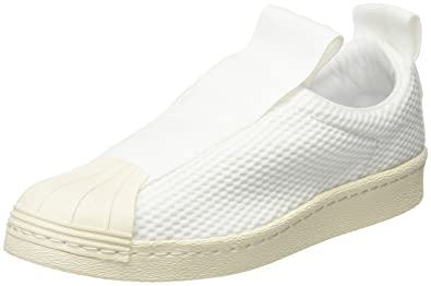 outlet store b70c3 a1690 adidas Womens Superstar Bw3s Slipon W Sneakers White Size 3.5 UK