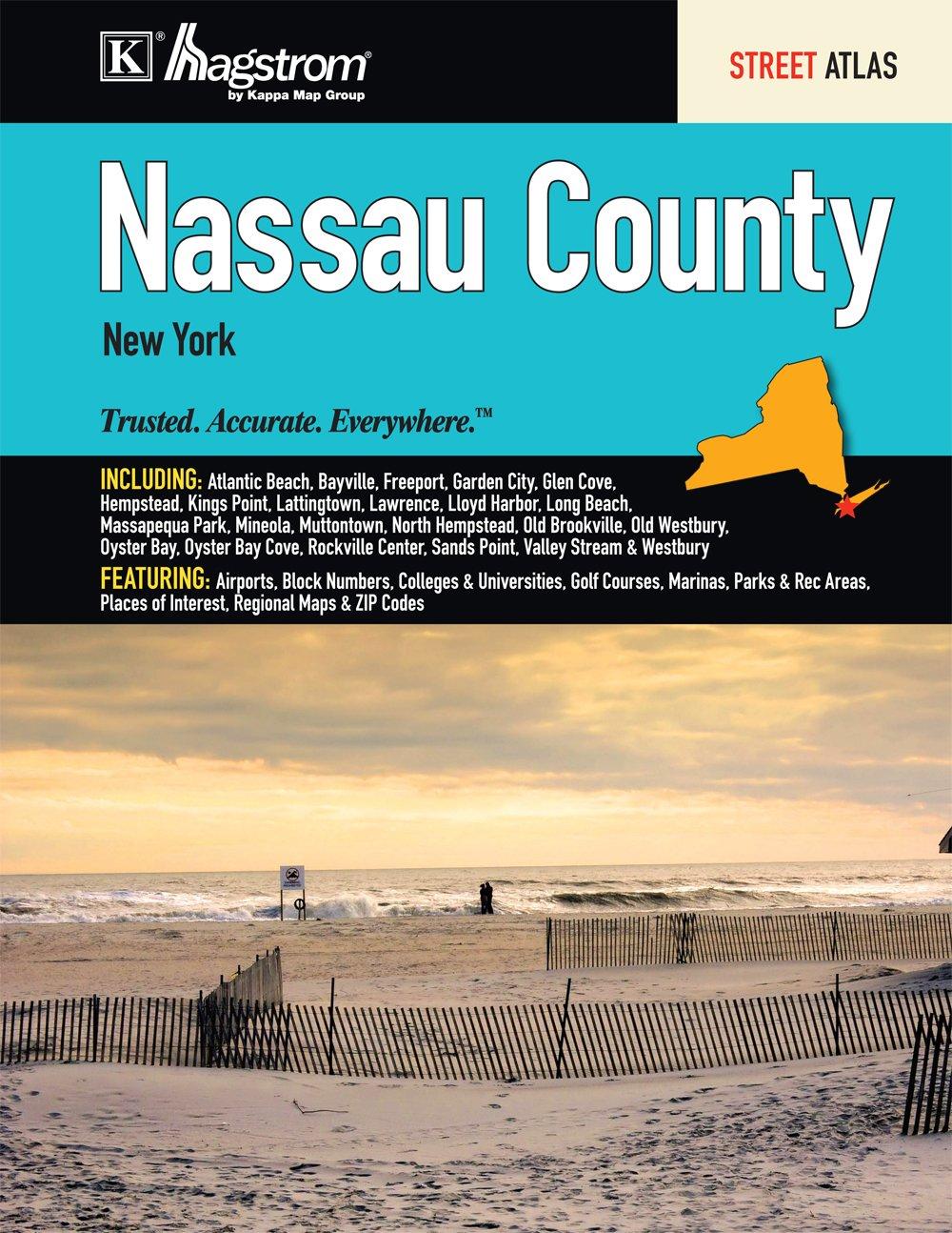 Nassau County Ny Street Atlas Kappa Map Group 9780762585144