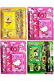Jiada Return Gifts Birthday Party -Pack of 12 Mix Stationery Kit Set for Kids
