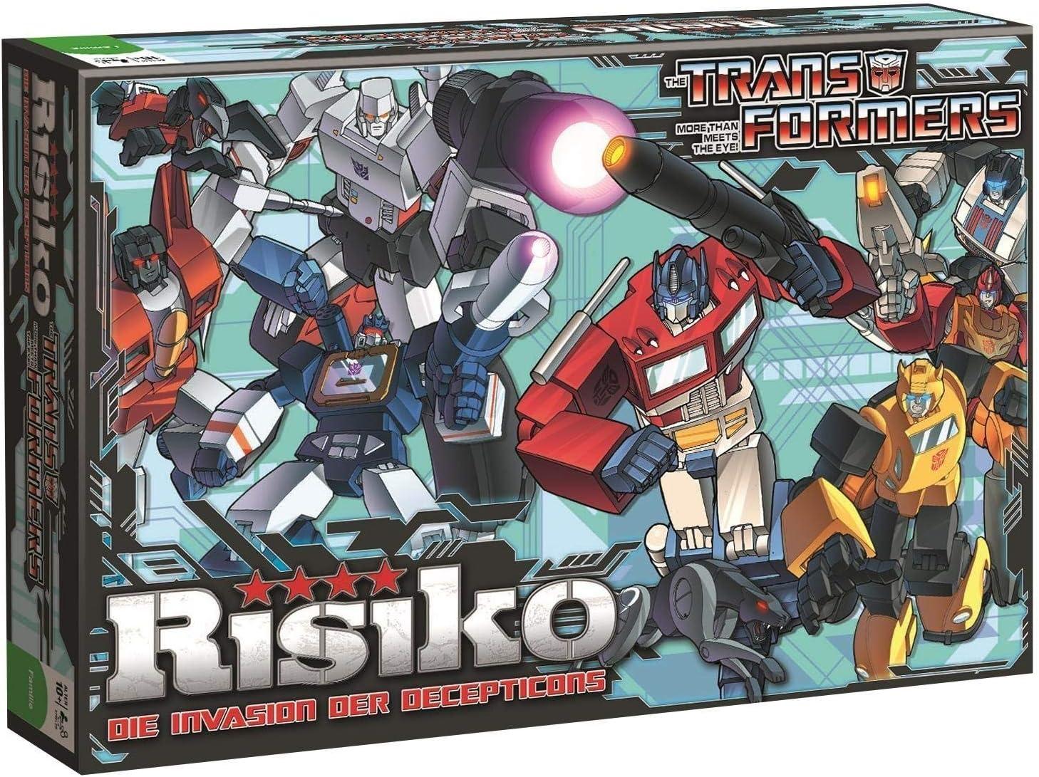 Winning Moves Transformers Juego de Mesa de Riesgo * Versión Alemana: Amazon.es: Juguetes y juegos