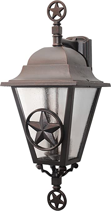 Melissa Lighting Ls1796 Western Outdoor Wall Mount From Lone Star Series Collection In Bronze Darkfinish Amazon Com