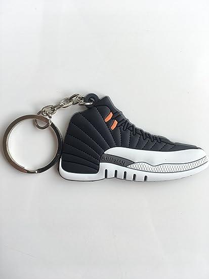 40cdb811c513c2 Amazon.com   Jordan Retro 12 Playoffs Sneaker Keychain Shoes Keyring AJ 23  OG   Sports   Outdoors