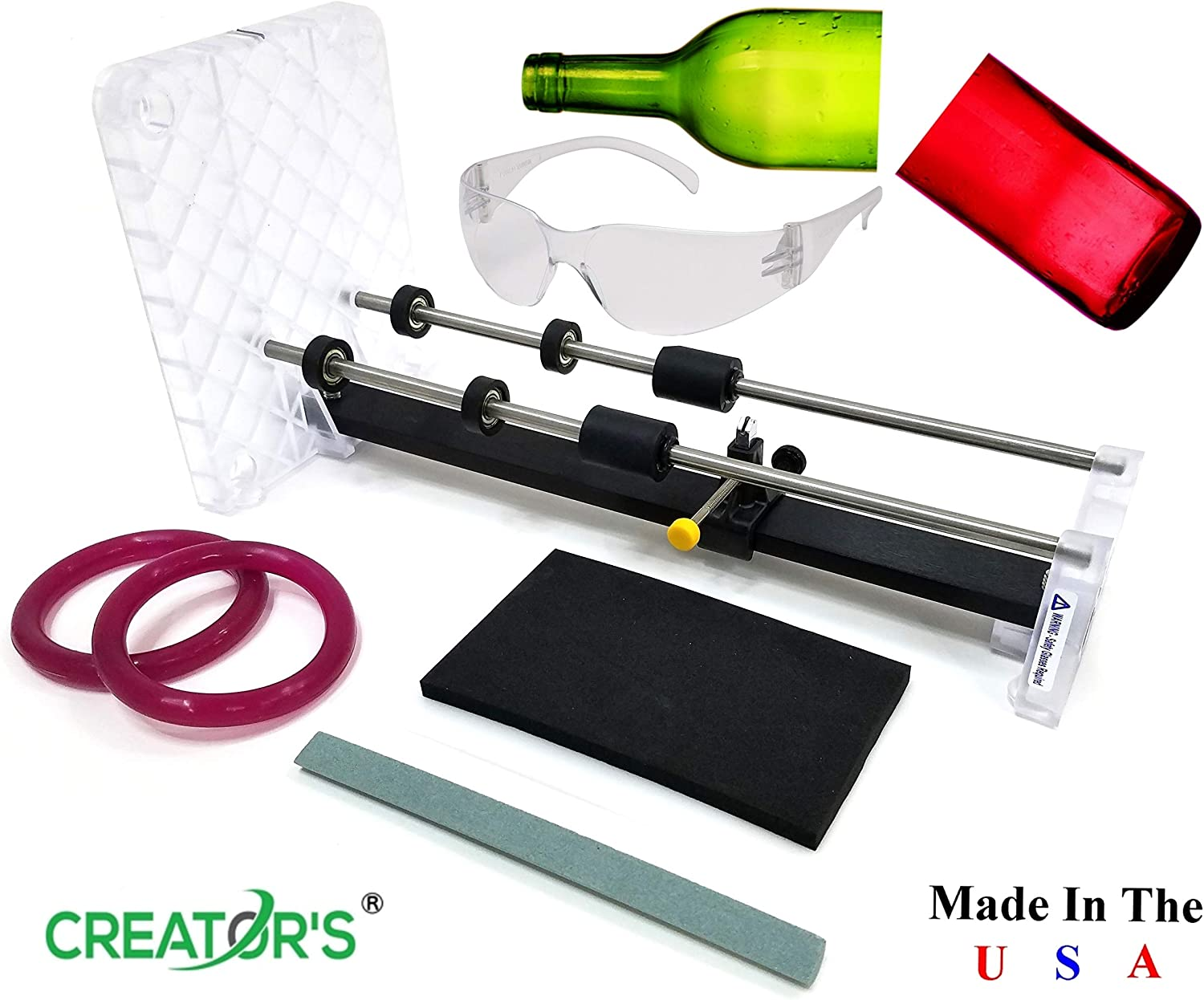 Creator's Glass Bottle Cutter Machine Kit - Home Entertainment System
