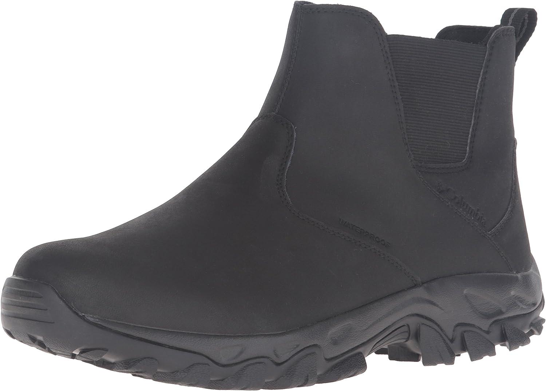 Columbia Men's Newton Ridge Plus Waterproof Slip On Shoe