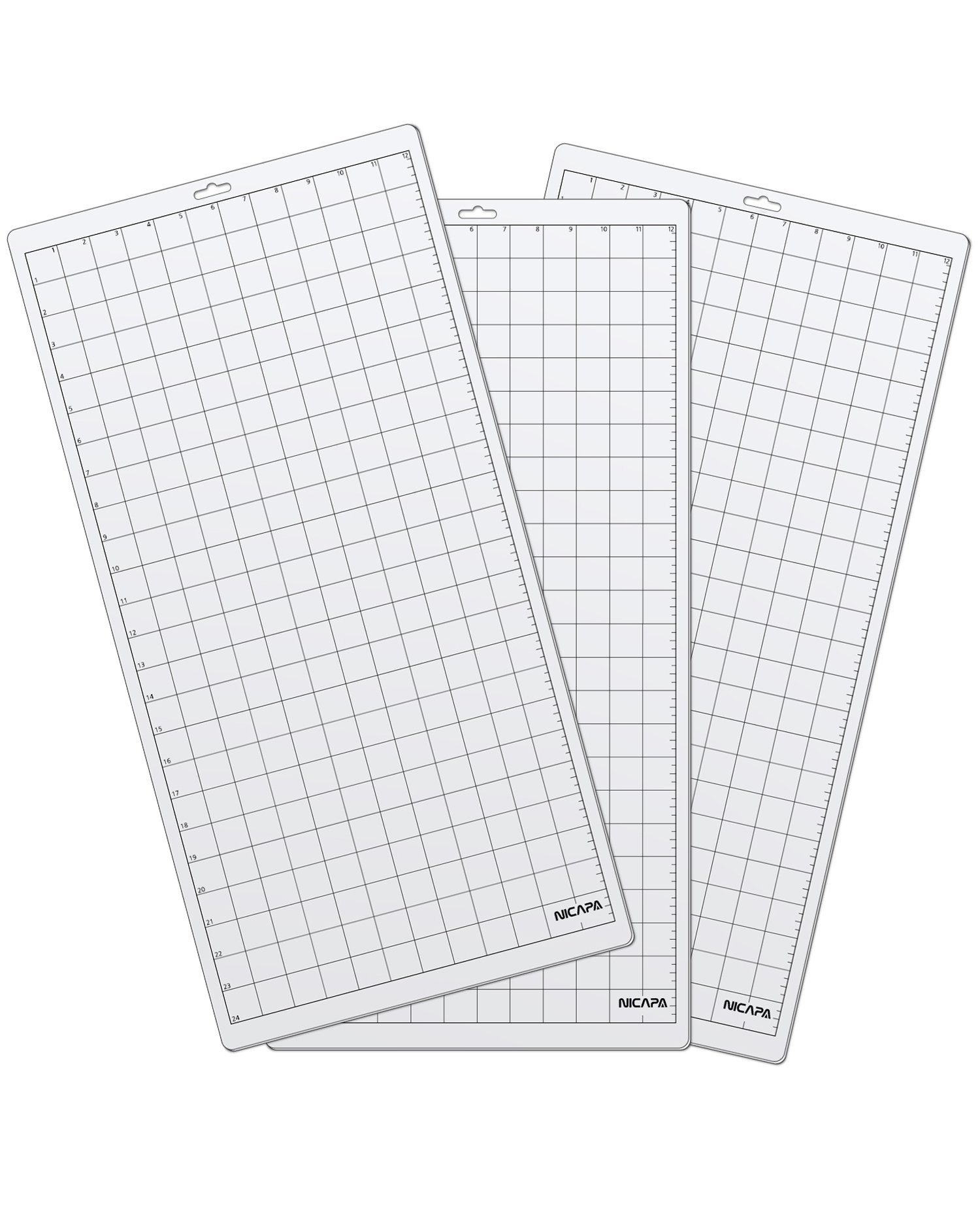For  Cutting Mat, 12'' H by 24'' L Nicapa replacement cutting mat (3pack)