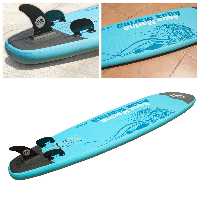 Happy Garden - Equipo de paddle surf Stand Up hinchable con bomba de alta presión, remo y bolsa de almacenamiento incluidos: Amazon.es: Jardín