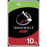 Seagate IronWolf 10TB NAS Internal Hard Drive HDD – CMR 3.5 Inch SATA 6Gb/s 7200 RPM 256MB Cache for RAID Network…