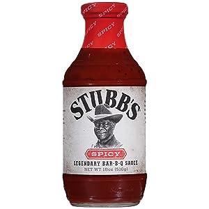 Stubb's Spicy BBQ Sauce, 18 oz
