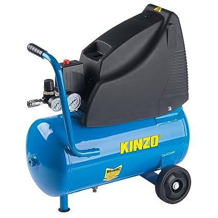 KINZO 71904 - Compresor de aire (1.5KW), color: azul