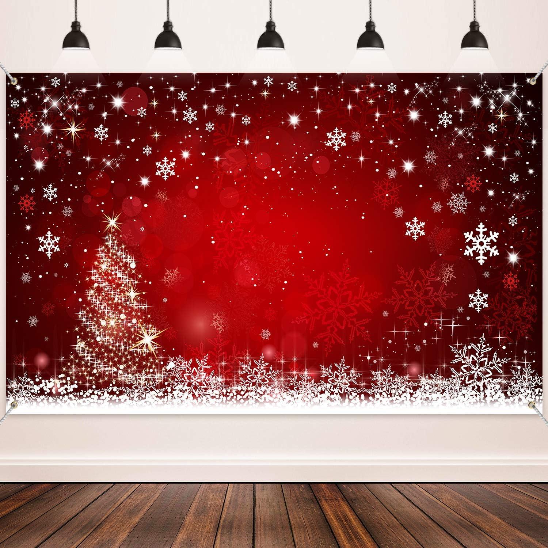 Weihnachten Dekoration Lieferungen Große Stoff Winter Kamera