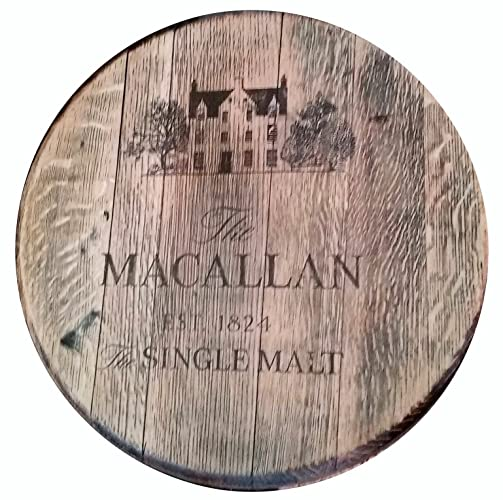 Reclaimed Whisky Barrel Lid The Macallan Single Malt Scotch Whisky