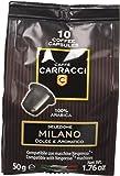 Caffè Carracci 100 cialde capsule compatibili Nespresso miscela Milano