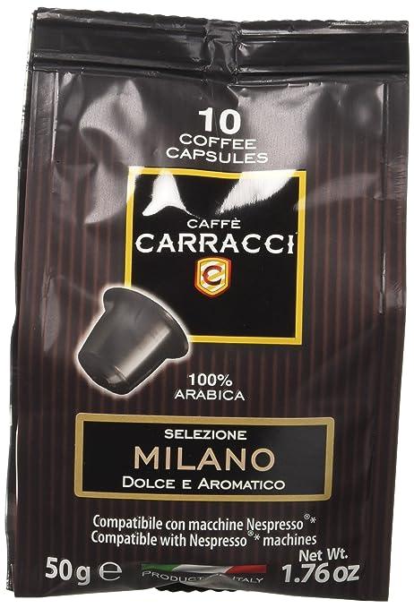 34 opinioni per Caffè Carracci 100 cialde capsule compatibili Nespresso miscela Milano