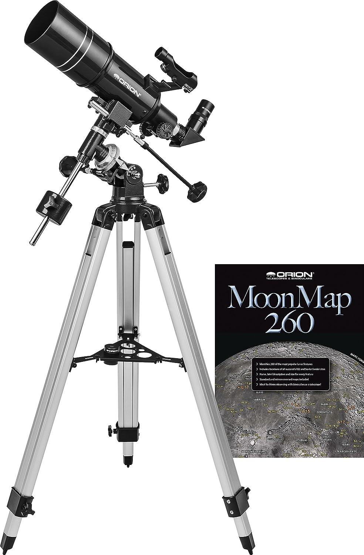 Telescopio rifrattore equatoriale Observer 80ST 80mm Orion 10273