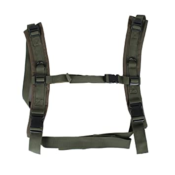 32f48ab7fa96 Amazon.com   US Peacekeeper Backpack Straps For P20301 Olive Drab   Beauty