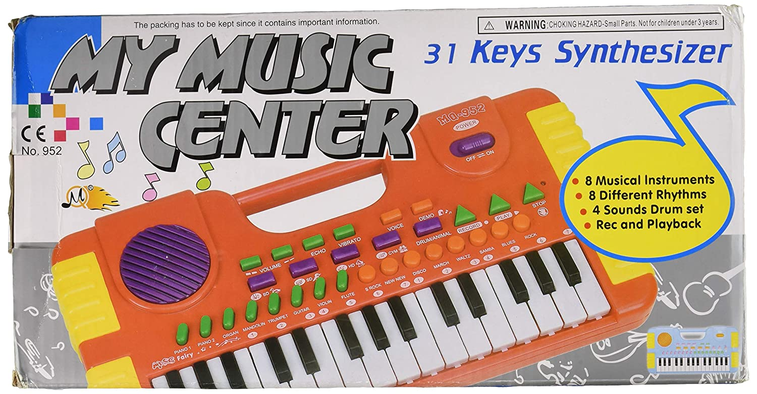 amazon com huali group my music center 32 key synthesizer rh amazon com