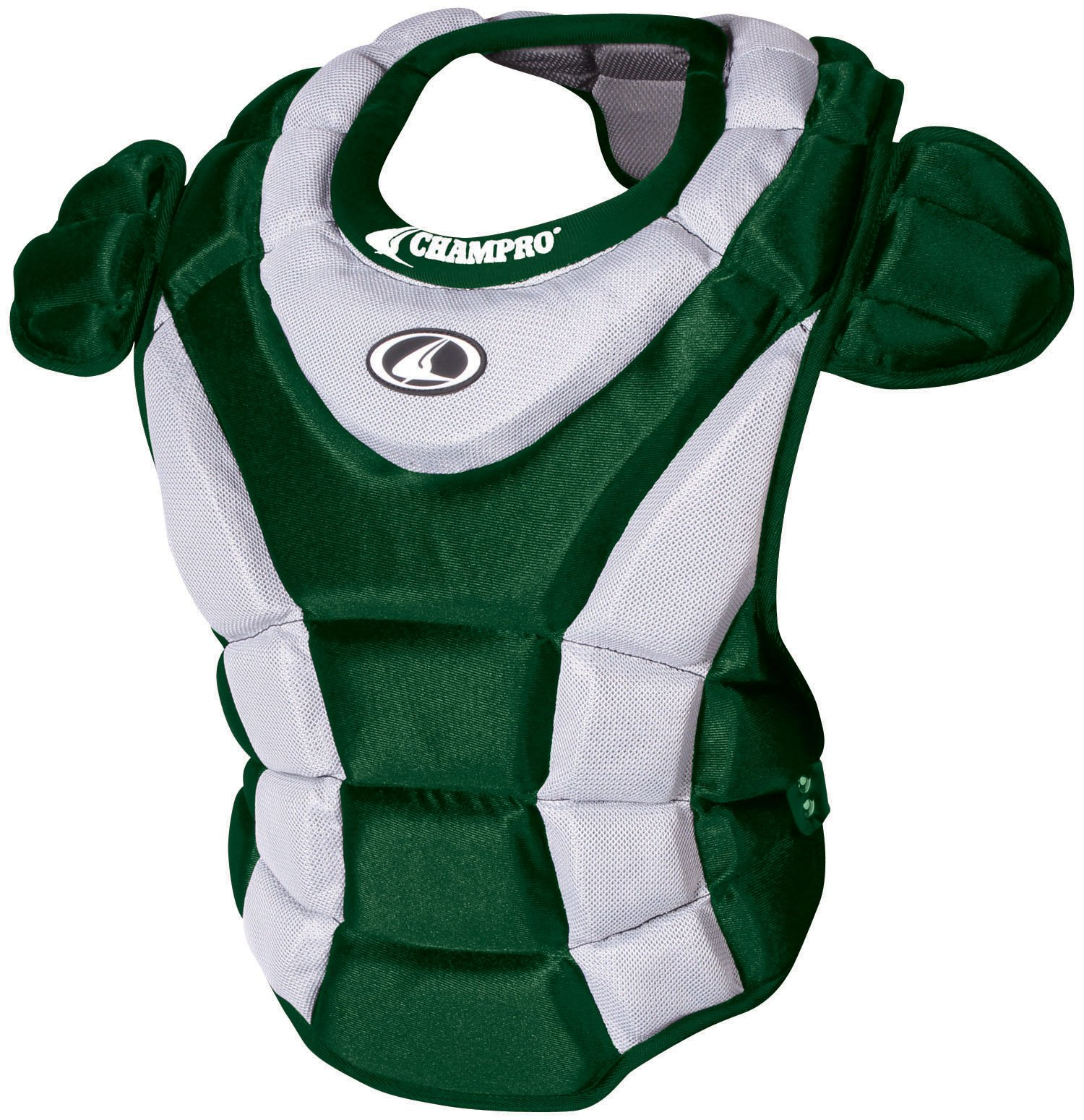 Champro Women's Chest Protector (Forest Green, 16-Inch length)
