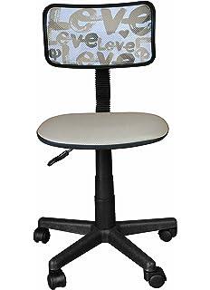 Urban Shop Printed Rolling Task Chair, Love Chair