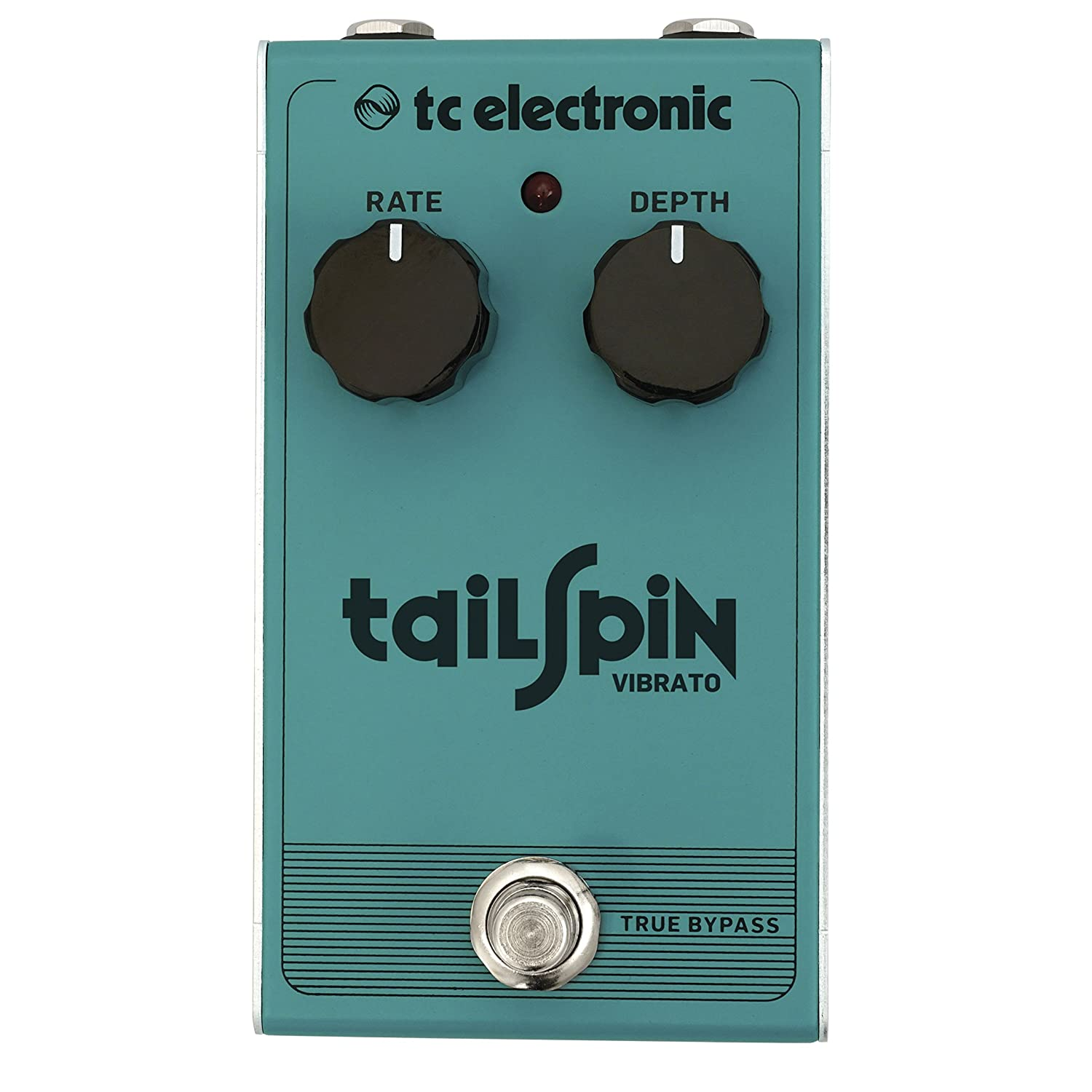 TC Electronic Tailspin Vibrato Classic True Pitch mit all-analog bucket-brigade Design Music Group